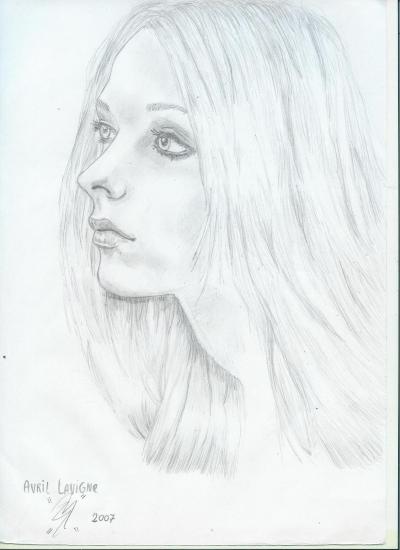 Avril Lavigne by gazl92arts